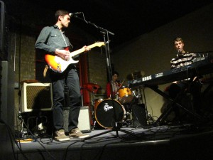"""Gothen plays a mesmerizing set to though of us who like their music to be """"out there""""."""